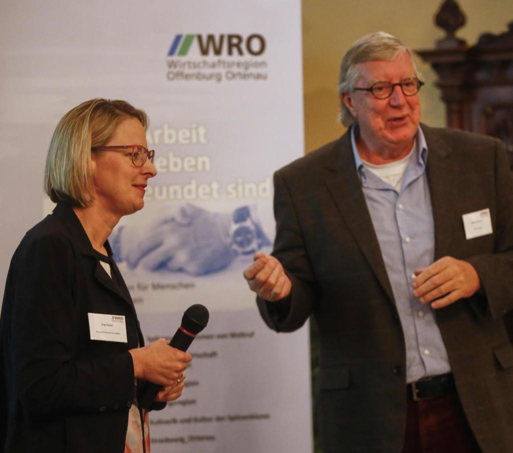 Anja Kayser und Manfred Hammes