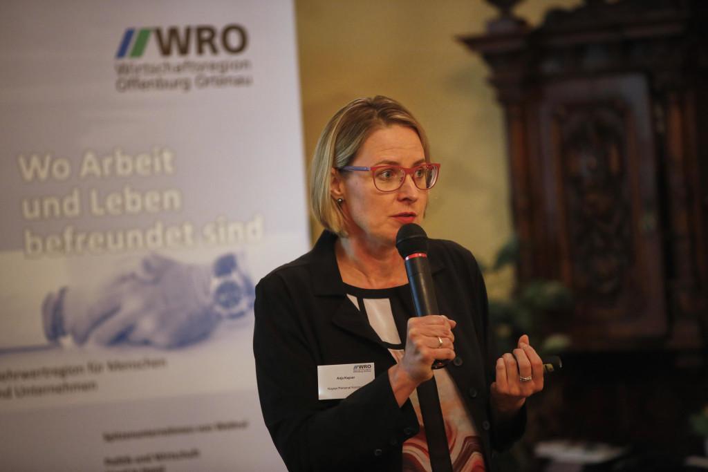 Vortrag Anja Kayser bei der Wirtschaftsregion Offenburg-Ortenau 01